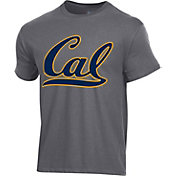 Champion Men's Cal Golden Bears Grey Ring Spun T-Shirt