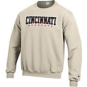 Champion Men's Cincinnati Bearcats Grey Powerblend Pullover Sweatshirt