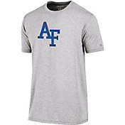 Champion Men's Air Force Falcons Grey Crew Performance T-Shirt