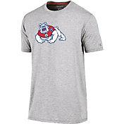 Champion Men's Fresno State Bulldogs Grey Crew Performance T-Shirt