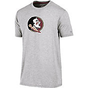 Champion Men's Florida State Seminoles Grey Crew Performance T-Shirt
