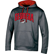 Champion Men's Georgia Bulldogs Grey Double Possession Pullover Hoodie
