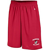 Champion Men's Georgia Bulldogs Red Mesh Performance Shorts