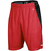 Champion Men's Georgia Bulldogs Red Training Performance Shorts