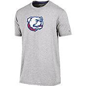 Champion Men's Louisiana Tech Bulldogs Grey Crew Performance T-Shirt