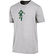 Champion Men's Michigan State Spartans Grey Crew Performance T-Shirt