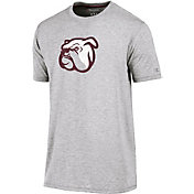 Champion Men's Mississippi State Bulldogs Grey Crew Performance T-Shirt