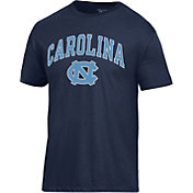 Champion Men's North Carolina Tar Heels Grey Ring Spun T-Shirt
