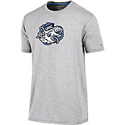 Champion Men's North Carolina Tar Heels Grey Crew Performance T-Shirt