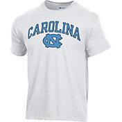 Champion Men's North Carolina Tar Heels Ring Spun White T-Shirt