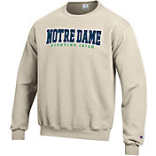 Champion Men's Notre Dame Fighting Irish Grey Powerblend Pullover Sweatshirt