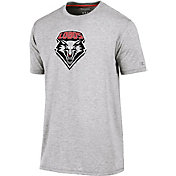 Champion Men's New Mexico Lobos Grey Crew Performance T-Shirt