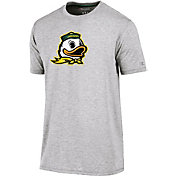 Champion Men's Oregon Ducks Grey Crew Performance T-Shirt