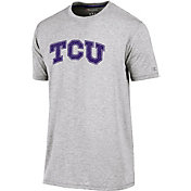 Champion Men's TCU Horned Frogs Grey Crew Performance T-Shirt