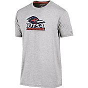 Champion Men's UT San Antonio Roadrunners Grey Crew Performance T-Shirt