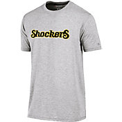 Champion Men's Wichita State Shockers Grey Crew Performance T-Shirt