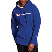 Champion Men's Powerblend Script Graphic Hoodie