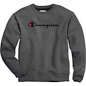 Champion Men's Blend Script Graphic Pullover