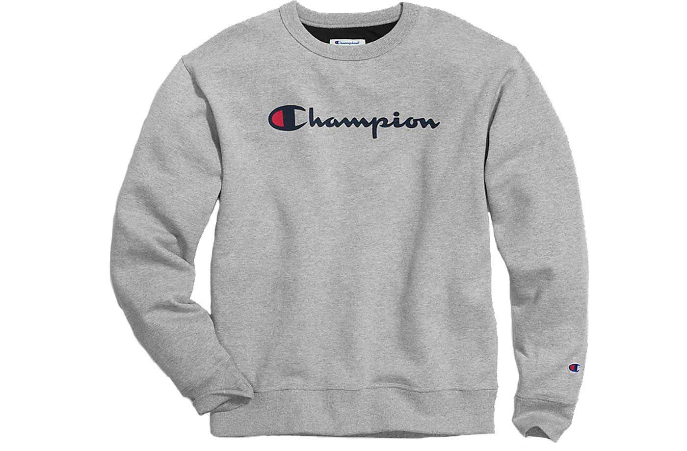 Champion Men's Blend Script Graphic Pullover