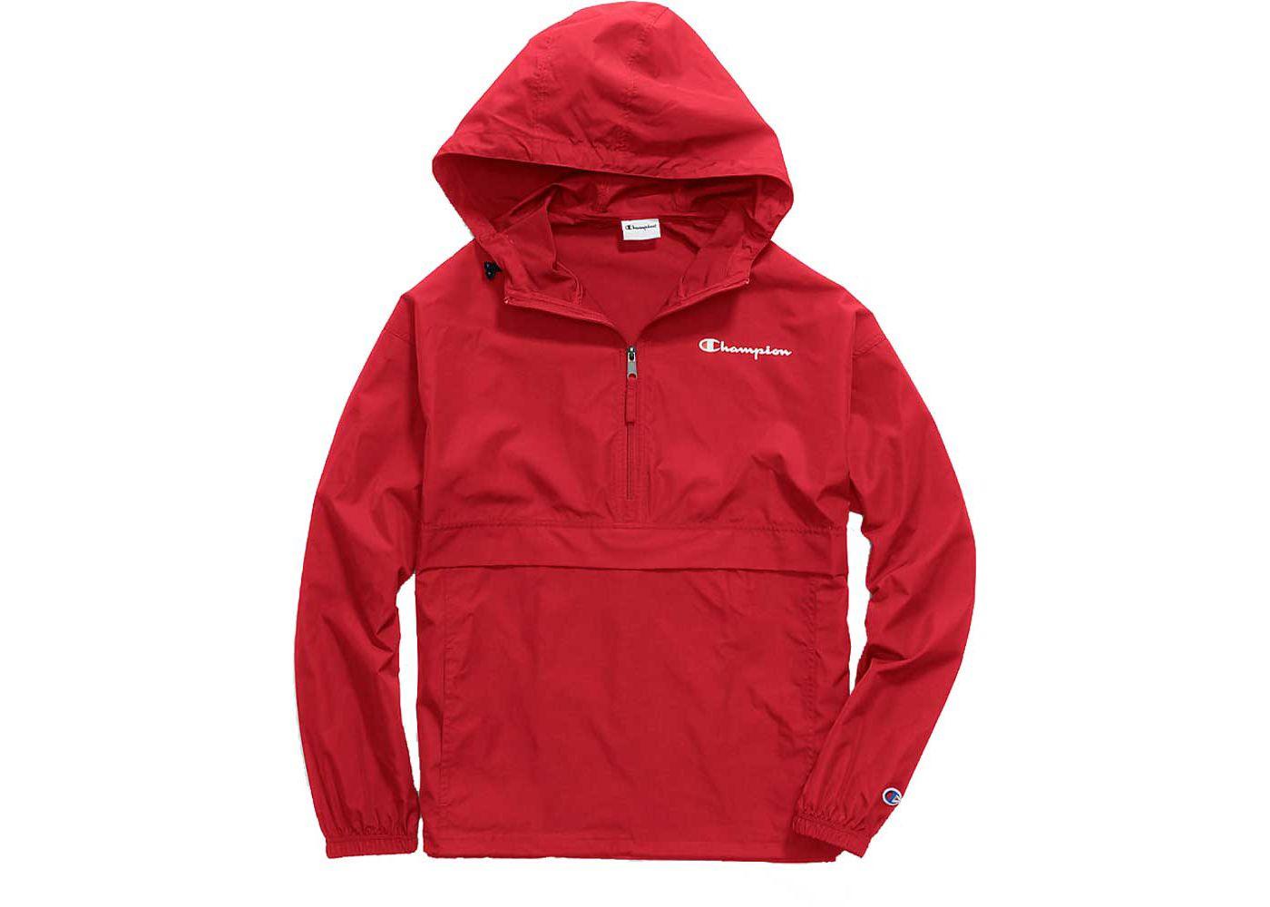 Champion Men's Packable Half-Zip Jacket