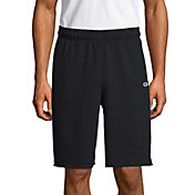 Champion Men's Powerblend Fleece Shorts in Black