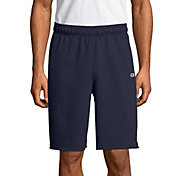 Champion Men's Powerblend Fleece Shorts in Navy