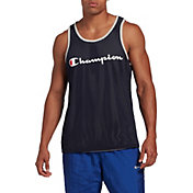 Champion Men's Reversible Mesh Tank Top