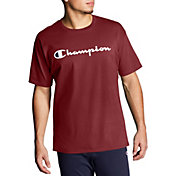 Champion Men's Script Jersey Graphic T-Shirt (Regular and Big & Tall)