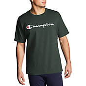 5676342cc0c3 Product Image · Champion Men s Script Jersey Graphic Tee