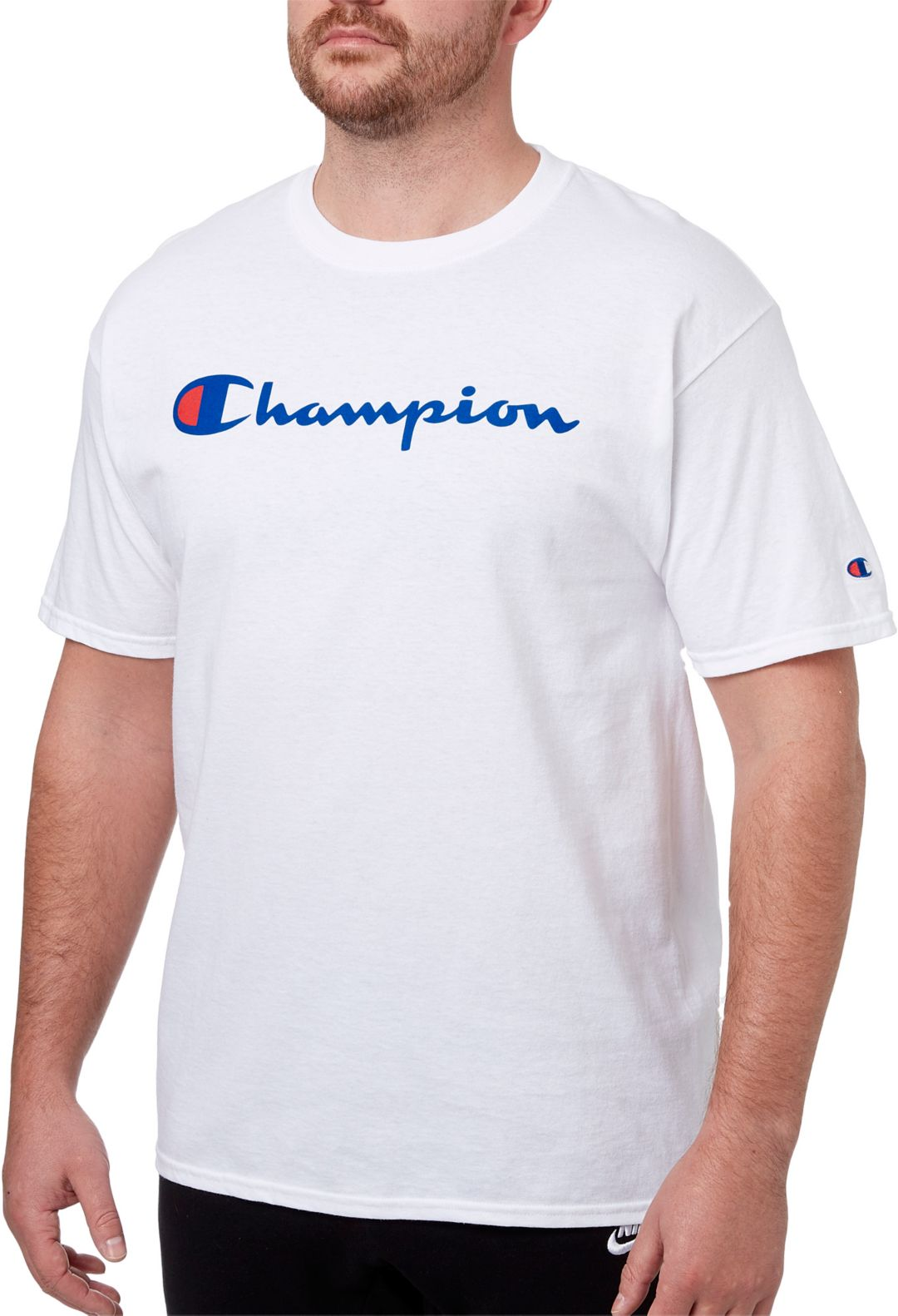 c1853c704a Champion Men s Script Graphic T-Shirt 1