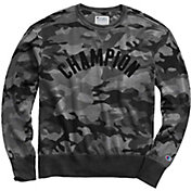 Champion Men's Vintage Dye Crew Printed Pullover
