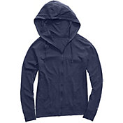 Champion Women's Heathered Jersey Full-Zip Hoodie