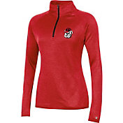 Champion Women's Georgia Bulldogs Quarter-Zip Performance Red Shirt
