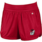 Champion Women's Georgia Bulldogs Red Endurance Performance Shorts