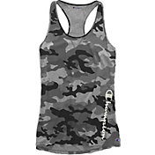Champion Women's Authentic Wash Camo Printed Tank