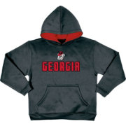 Champion Youth Georgia Bulldogs Grey Pullover Hoodie