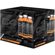 Cellucor C4 Ultimate On The Go Pre-Workout Drink Orange 12-Pack