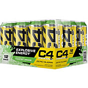 Cellucor C4 On The Go Pre-Workout Drink Sparkling Limeade 12-Pack