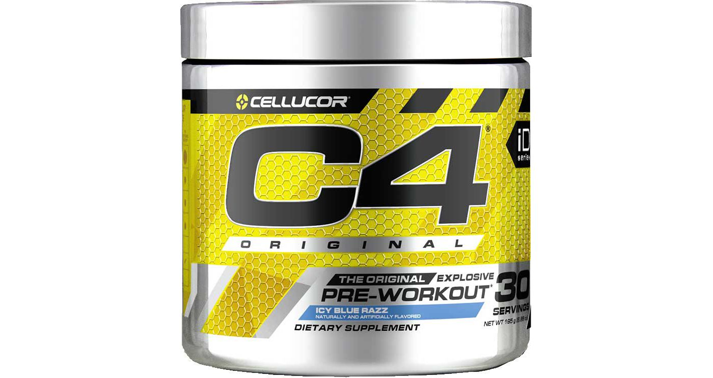 Cellucor C4 Original V2 Pre-Workout Icy Blue Razz 30 Servings