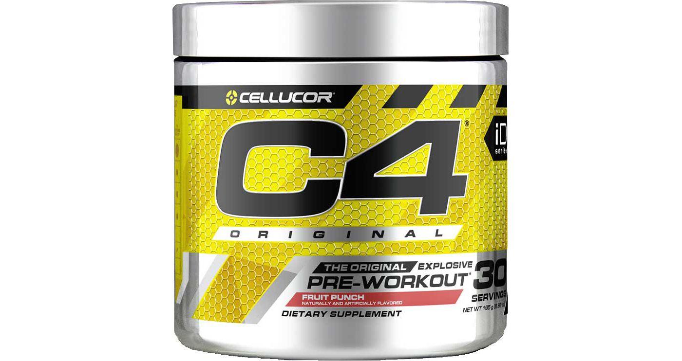 Cellucor C4 Original V2 Pre-Workout Fruit Punch 30 Servings
