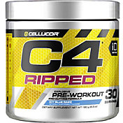 Cellucor C4 Ripped Pre-Workout Icy Blue Razz