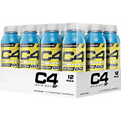 Cellucor C4 On The Go Pre-Workout Drink Icy Blue Razz 12-Pack
