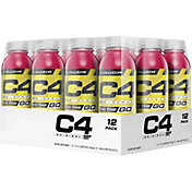 Cellucor C4 On The Go Pre-Workout Drink Fruit Punch 12-Pack