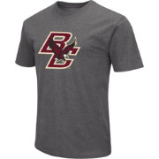 Colosseum Men's Boston College Eagles Grey Dual Blend T-Shirt