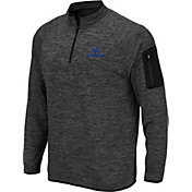 Colosseum Men's Buffalo Bulls Grey Quarter-Zip Shirt