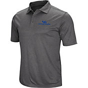 Colosseum Men's Buffalo Bulls Grey Cut Shot Polo