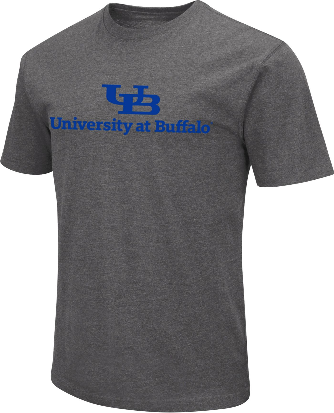 Colosseum Men's Buffalo Bulls Grey Dual Blend T-Shirt