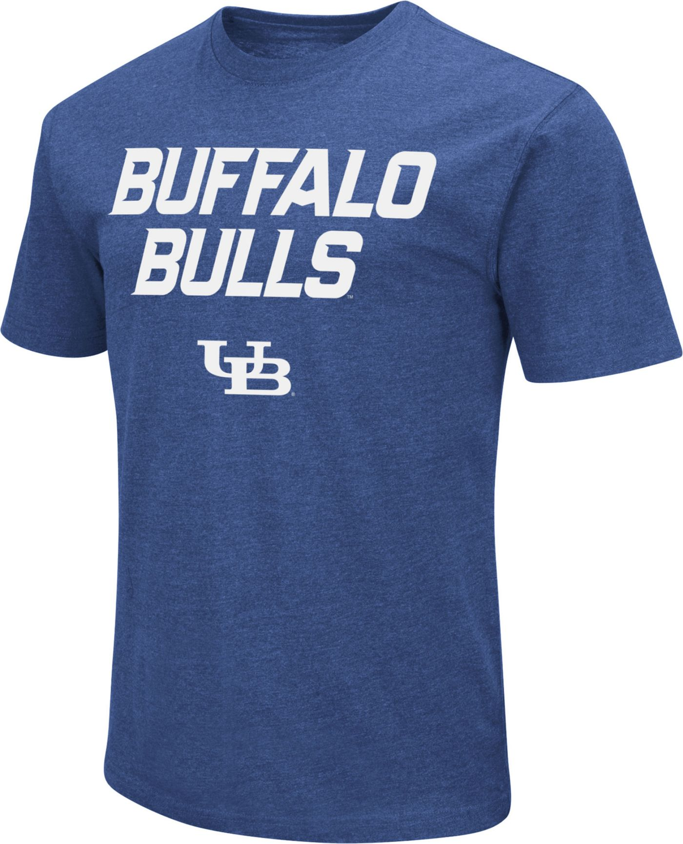 Colosseum Men's Buffalo Bulls Blue Dual Blend T-Shirt
