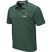 Colosseum Men's UAB Blazers Green Eagle Polo
