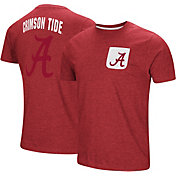 Colosseum Men's Alabama Crimson Tide Crimson Voodoo Pocket T-Shirt